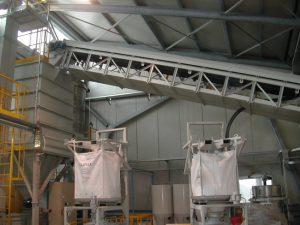 Carpenteria tralicci per nastri trasportatori